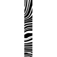 Tie Black & White Style Wild Zebra