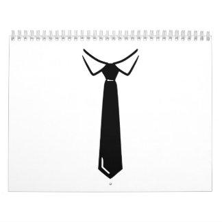 Tie collar calendar