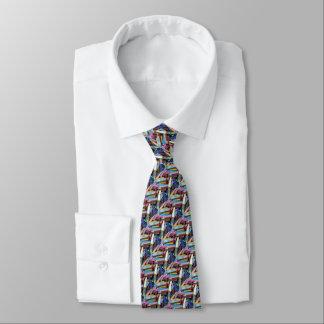 Tie, colorful chalks art artist painter neck tie