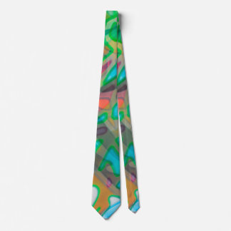 Tie Colorful Stained Glass