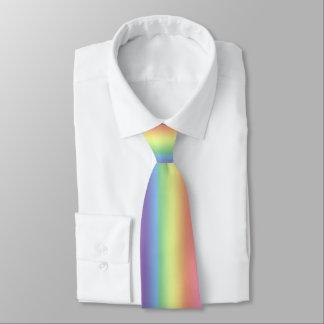 Tie (dbl side) - Rainbow stripes (vert.)