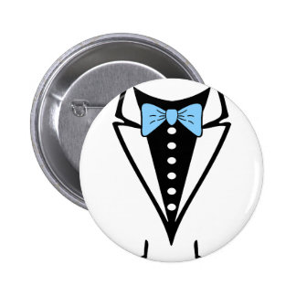 tie design for kids pinback button
