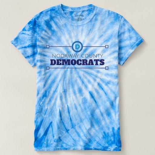 Tie-Die Nodaway County Democrats T-Shirt