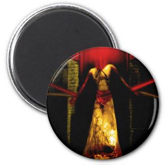 Tie down the Devil 2 Inch Round Magnet
