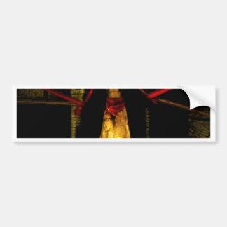 Tie down the Devil Car Bumper Sticker