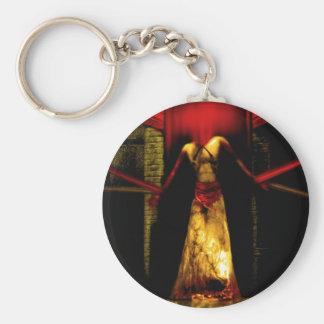 Tie down the Devil Keychain