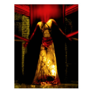 Tie down the Devil Postcard