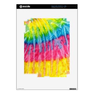 tie-dye #2 iPad 2 decals