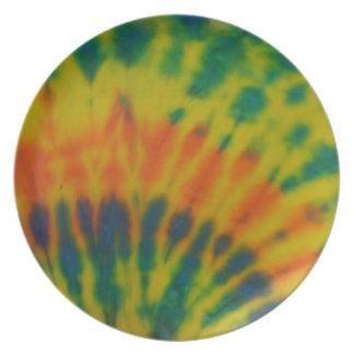 Tie-Dye #2 plate