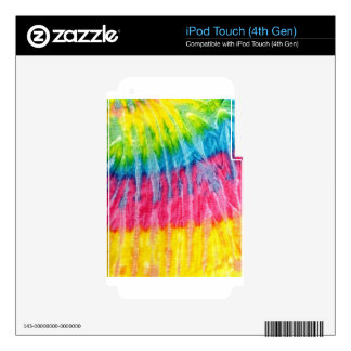 tie-dye #2 skins for iPod touch 4G