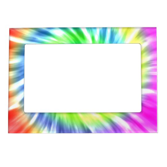 Tie Dye 5x7 Magnetic Frame Zazzle