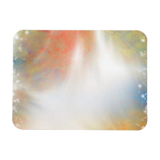 Tie Dye Abstract Pastels Sunlight Sparkles Magnets