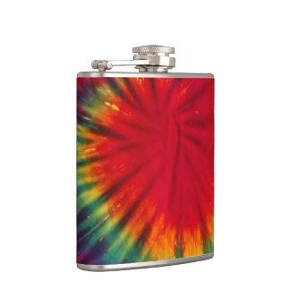 Tie Dye Alcohol Flask