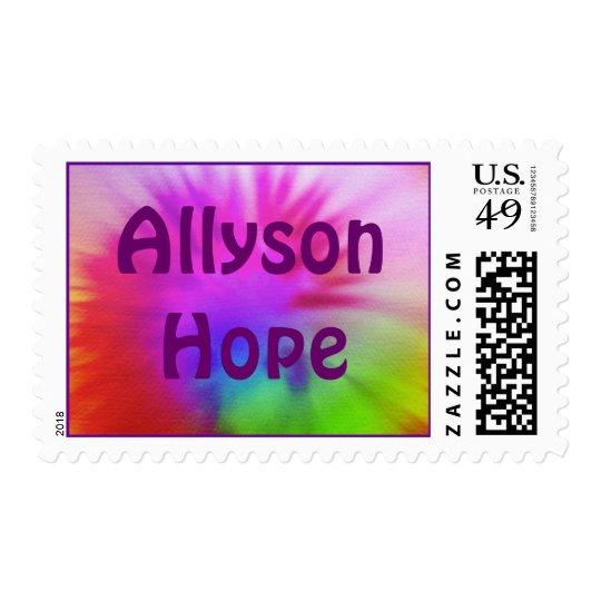 Tie-Dye, AllysonHope Postage