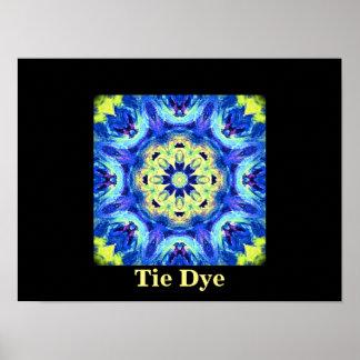 Tie Dye Art Print by Carole Tomlinson