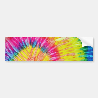 Tie Dye Bumper Sticker