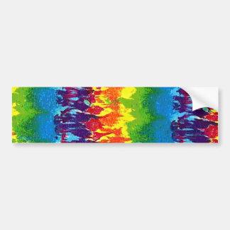 Tie-Dye Bumper Stickers