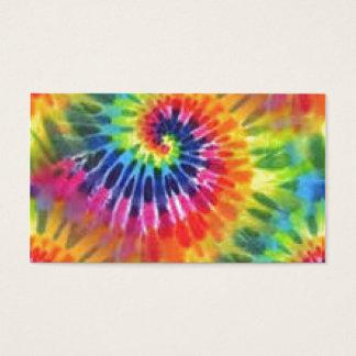 Tie Dye Business Card