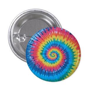 tie dye 1 inch round button