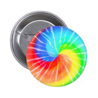 Tie-dye Pinback Buttons