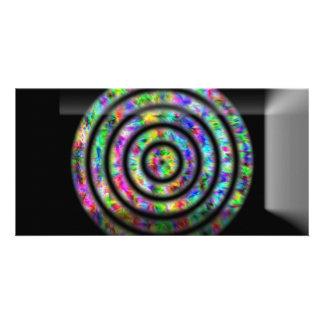 Tie Dye Circles Card