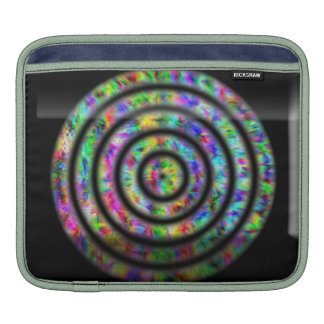 Tie Dye Circles Sleeve For iPads