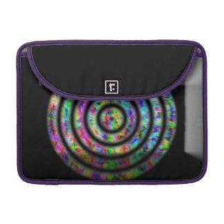 Tie Dye Circles Sleeve For MacBook Pro