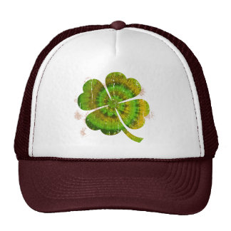 Tie Dye Clover Mesh Hat