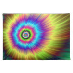 Tie-dye Color Explosion American MoJo Placemats