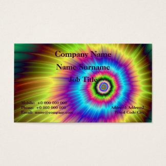 Tie-dye Color Explosion Business Card