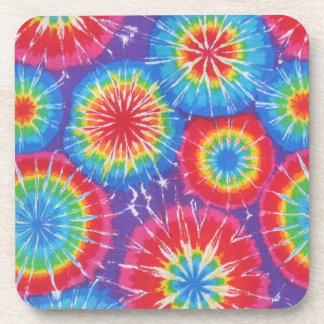 Tie Dye Cork Coaster