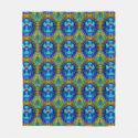 Tie Dye Cross Fleece Blanket (<em>$58.00</em>)