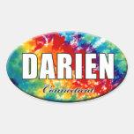 Tie-Dye Darien, CT Sticker