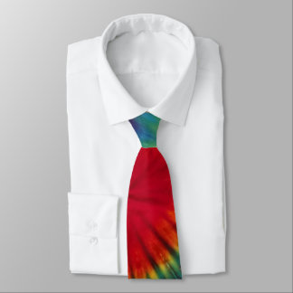 Tie Dye Design Neck Tie