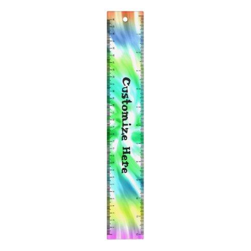 Tie Dye Design Ruler