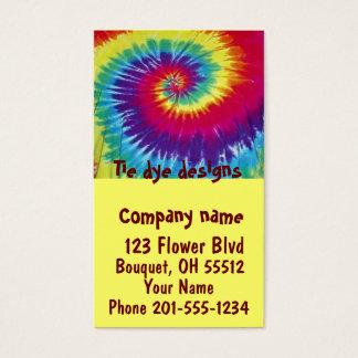 Tie dye designs Business Card