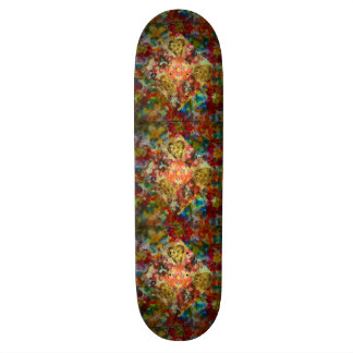 Tie Dye Diamond Skate Boards