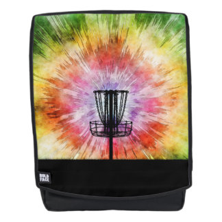 Tie Dye Disc Golf Basket Backpack
