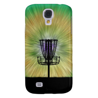 Tie Dye Disc Golf Basket Galaxy S4 Case