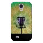 Tie Dye Disc Golf Basket Samsung Galaxy S4 Cover