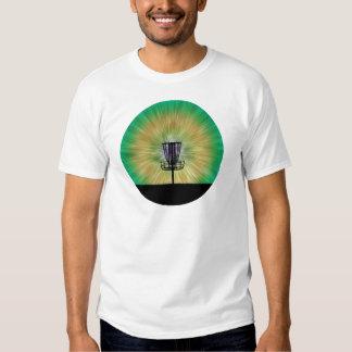 Tie Dye Disc Golf Basket T-shirts