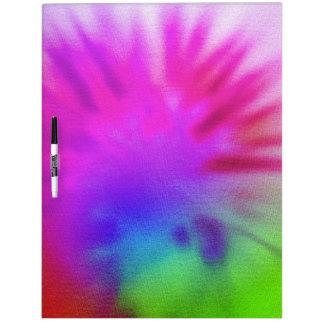 Tie Dye Dry-Erase Board