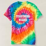 Tie Dye Dysautonomia Warrior T-shirt