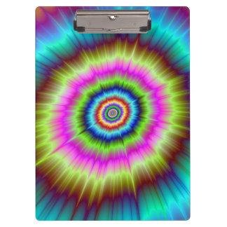 Tie Dye Explosion Clipboard