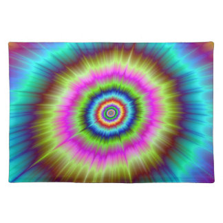 Tie Dye Explosion Placemats