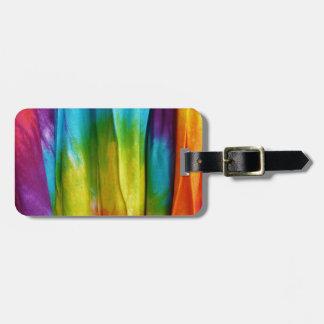 Tie-Dye Fabric Print Bag Tag