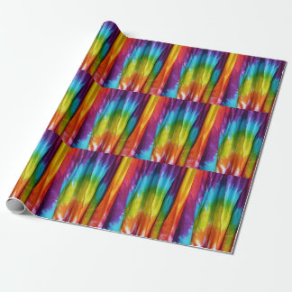 Tie-Dye Fabric Print Wrapping Paper