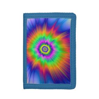 Tie Dye Fireball Wallet