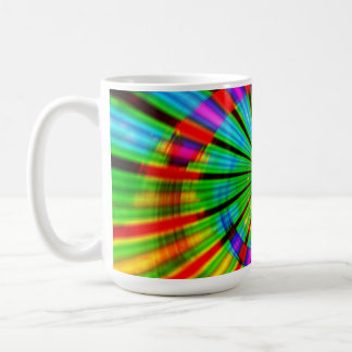 Tie-Dye Groovy Rainbow Coffee Mug