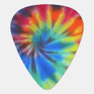 Tie Dye Guitar Pick